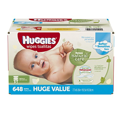 US #Baby No.5 Huggies Natural Care Baby Wipes Refill 648 ct Frag... https://t.co/SCUpor0nhU https://t.co/VlAWRKvYDr