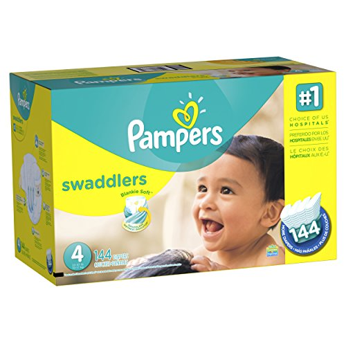 US #Baby No.4 Pampers Swaddlers Diapers Size 4 144 Count https://t.co/7VSV49ogi4 https://t.co/JFrD1RDC6x