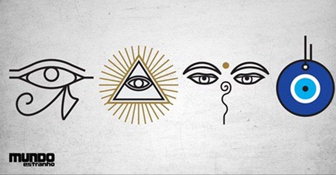 Qual o significado dos símbolos com olhos? #BombouNaME https://t.co/nBkzOW8xms
