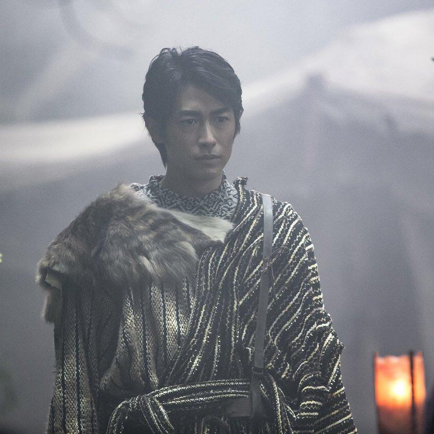 ロタ王国の王子イーハンを演じる、ディーン・フジオカさん。処刑場のシーンが、元恋人役の壇蜜さんとの初共演だったとか。現場に