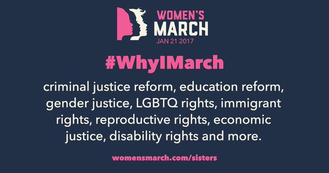 Fired up & ready to march!   Tell us why you march & tweet your march photos.   #WhyIMarch #WomensMarch