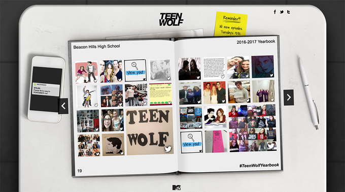 Have a special memory you'd like to include in our yearbook? Tweet using #TeenWolfYearbook for a chance to enter!