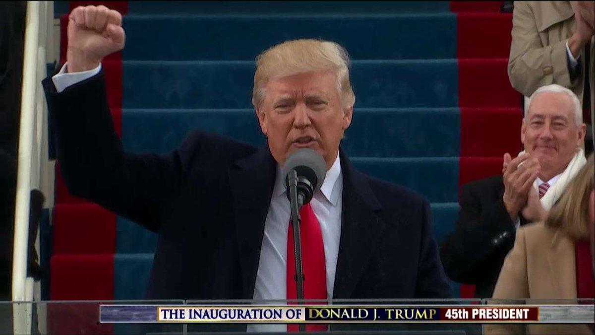 ICYMI: #Inauguration Highlights: @realDonaldTrump Trump Becomes 45th @POTUS #Trump45 #FoxNews https://t.co/esc08WzEtB