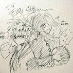誰か描いてそうだがCV.西墻由香さんズベイバの黄緑クオンとイナイレの風丸一郎太
