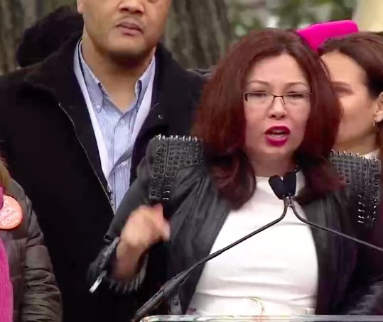 'Without the #ADA [Americans with Disabilities Act] I would not be here today.' - @RepDuckworth   #WomensMarch #WhyIMarch