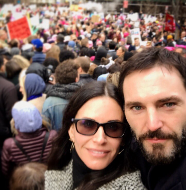 Togetherness   in New York! @johnnymcdaid #WomensMarch https://t.co/rVJsazD8Bu