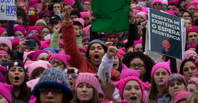 If all of us who marched today, fight for our health & rights tomorrow & every day after, we'll win.  https://t.co/U98wTkDrx6#WomensMarch
