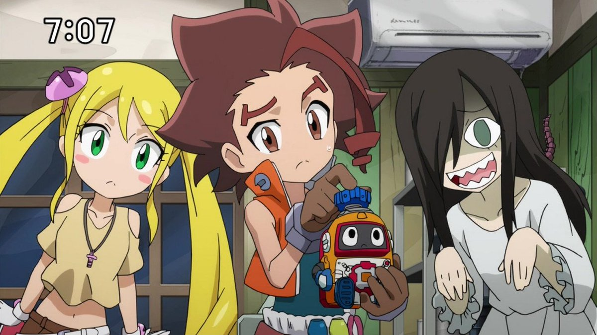 ヘボット17話 ユーコさん特集(1) #tvasahi