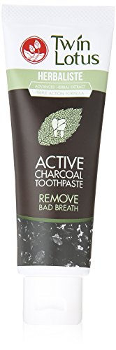 US #Beauty No.9 Twin Lotus Active Charcoal Toothpaste Herbaliste T... https://t.co/nUnDze2PUl https://t.co/plT7tppR4d