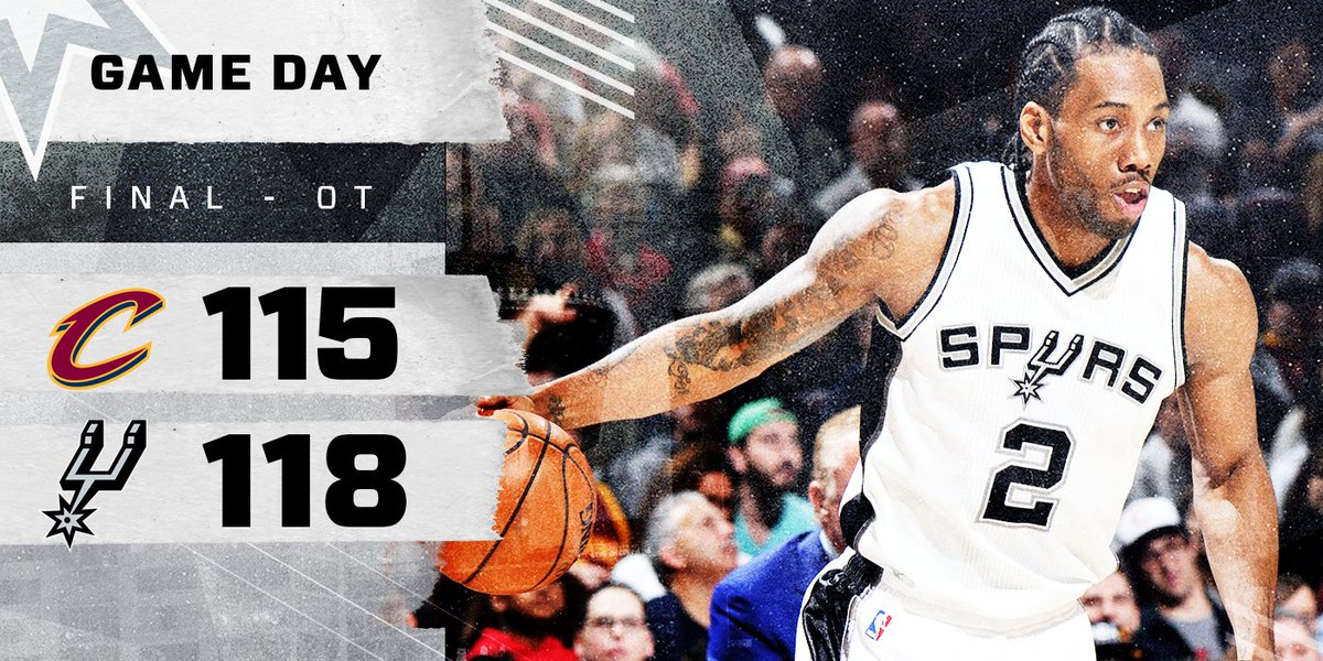 Kawhi put up a career-high 41 and we got the big road W in Cleveland.
