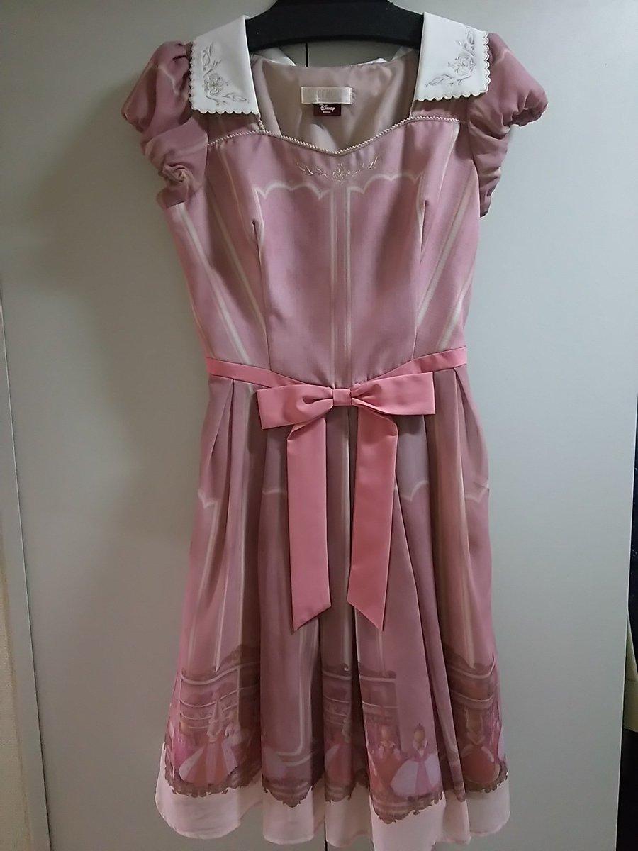 そしてシャーロットも試着したらしっくり来た!写真で見たら結構明るいピンクだと思ってたら少し暗めのピンクだた♪これは着やす