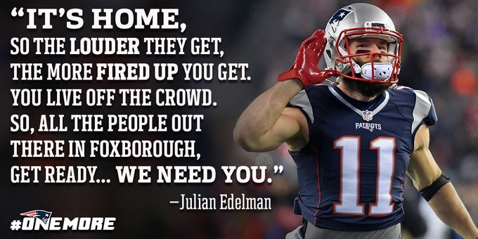 Get ready, #PatriotsNation!