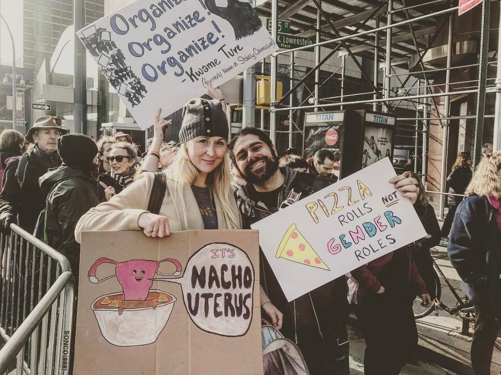 #womansmarch #nyc #equalityforeveryone https://t.co/6Wh2olKzGY