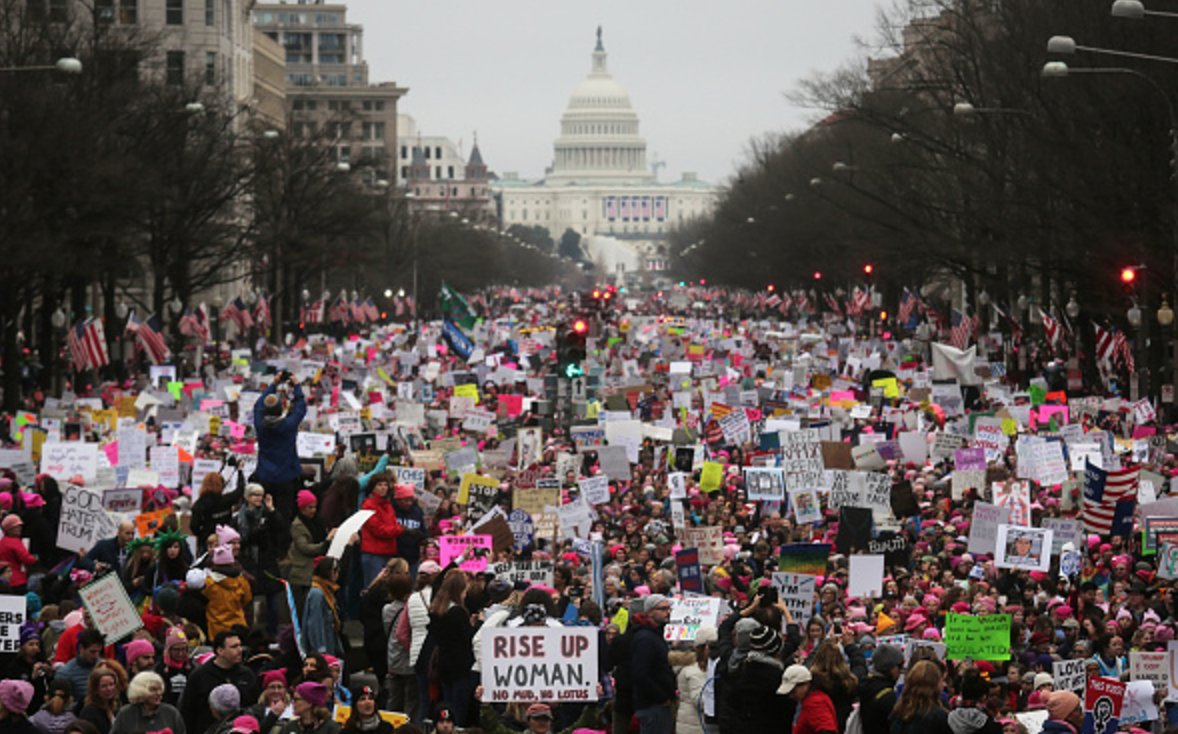 RT @thehill: JUST IN: Women's marches turn out 2.5 million protesters across country https://t.co/Niq1QPRGxz https://t.co/QIDI9EasDh