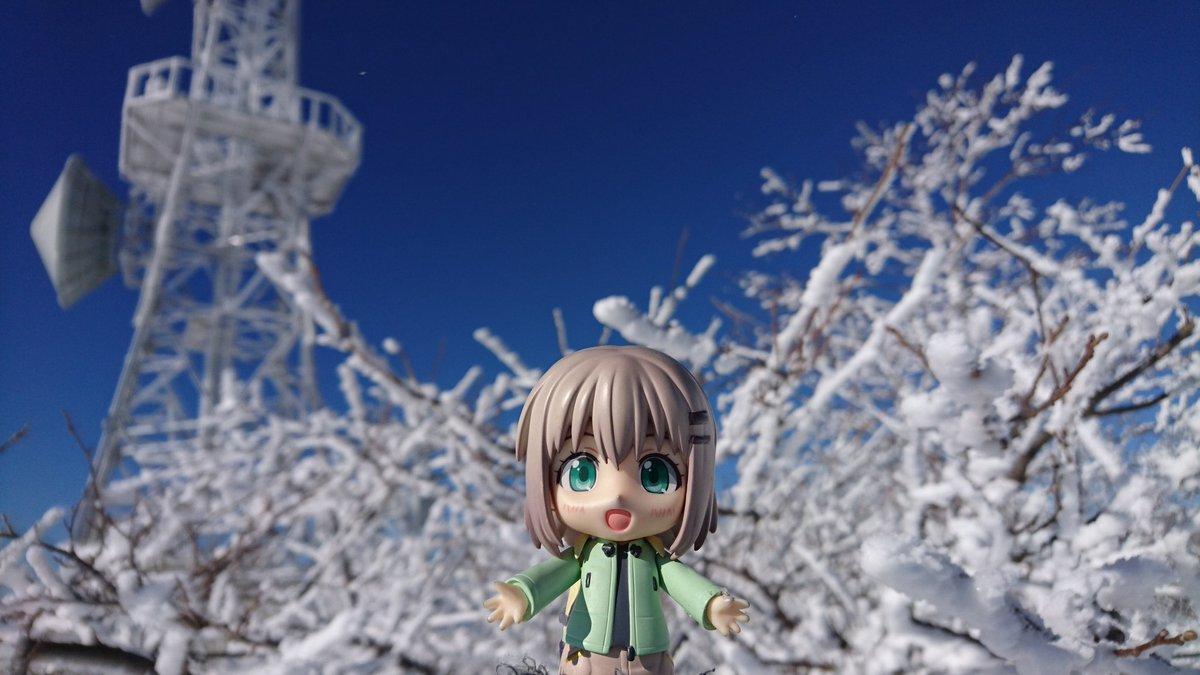 赤城山山頂去年は、黒檜山だったので、今年は、あおいちゃんたちと同じ、地蔵岳より、三期お願いします!#ヤマノススメ#ヤマノ