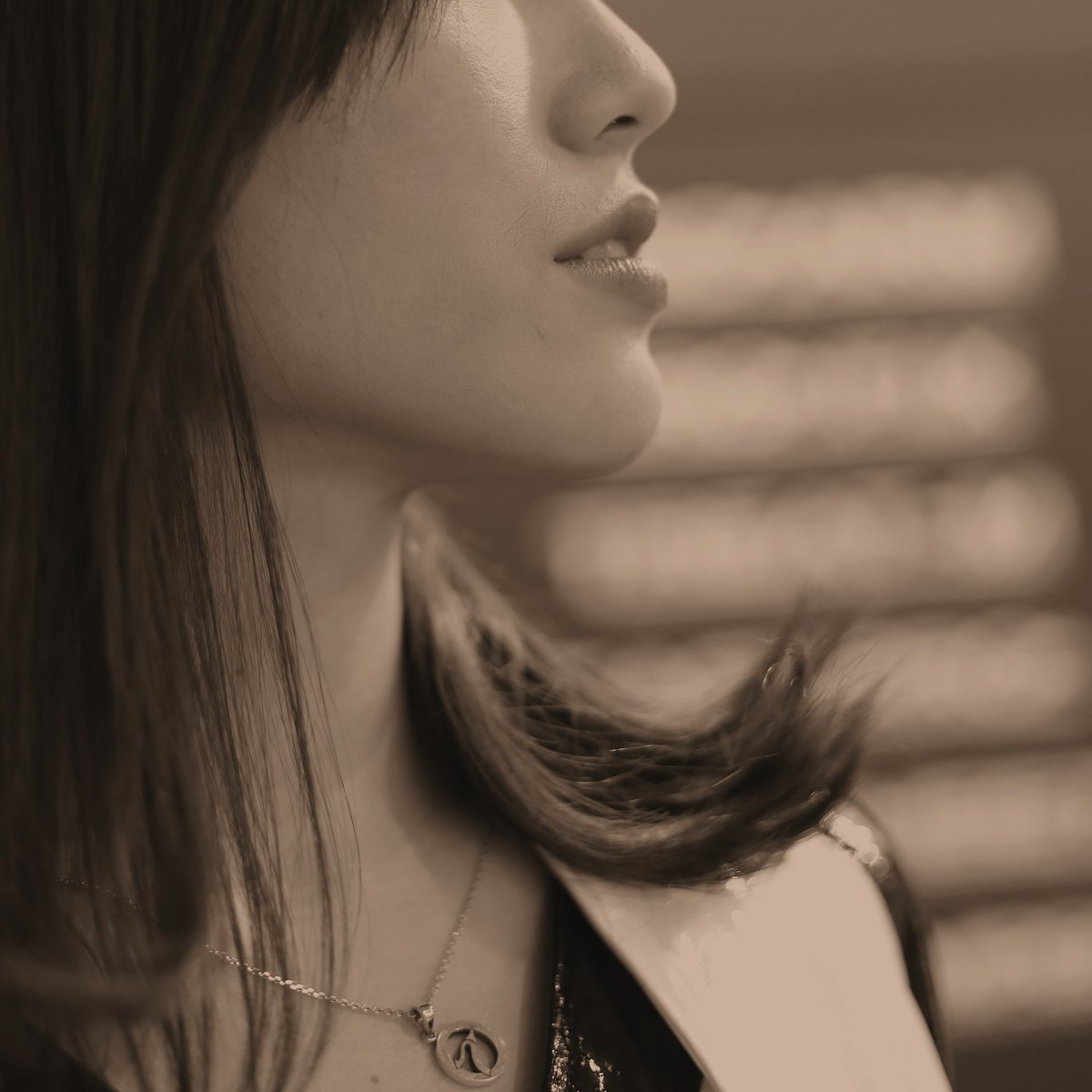 純粋だけど芯がハッキリ出てる綺麗な女性です#星野奏#ほっしー#tdemand#autosalon#横顔#写真好きな人と繋