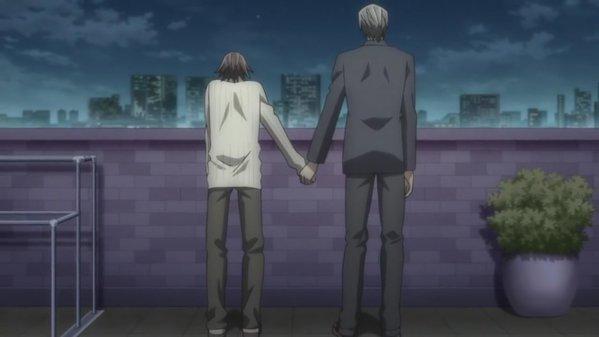 『純情ロマンチカ』手をそっと…(^_-)-☆