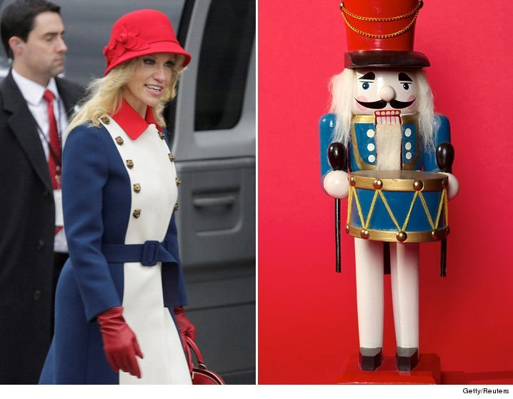 #SNL @azizansari asked if Kelly Anne Conway was moonlighting as a doorman at FAO Schwarz!  Welp! https://t.co/63pOriQnGj
