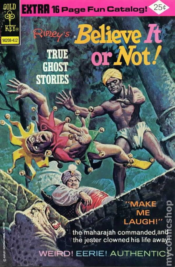 Always loved the great cover art and pulp tales of the Gold Key