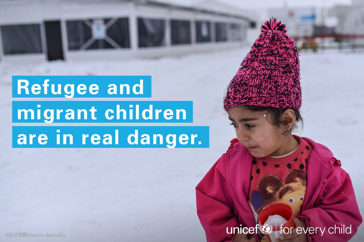 Without proper shelter & warm clothing, children at risk as brutal weather grips much of Europe:  https://t.co/aq0TpBHryM#ChildrenUprooted