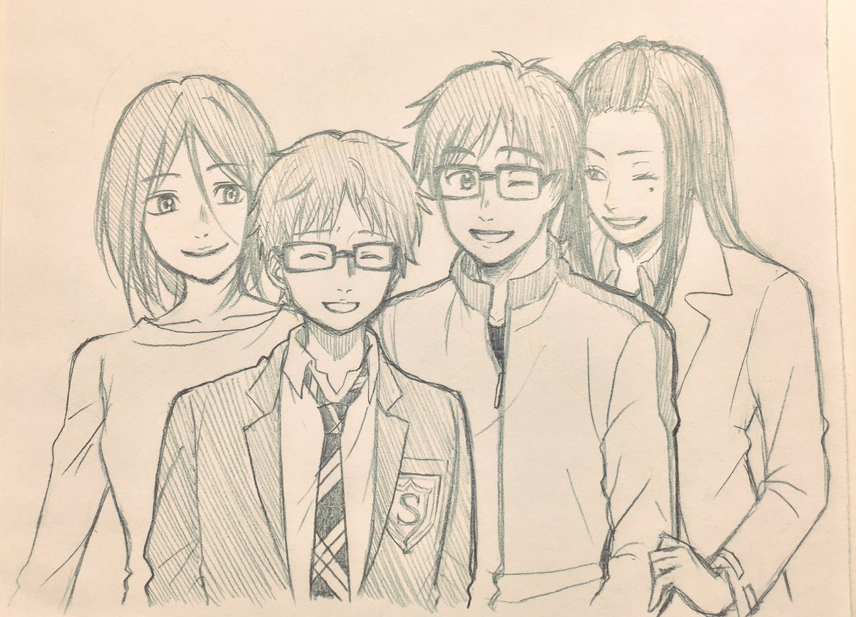 YOI見始めた時から、勇利とミナコ先生の関係既視感あるなーと思ってたら、四月は君の嘘の公正と紘子さんとの関係に似てるんだ