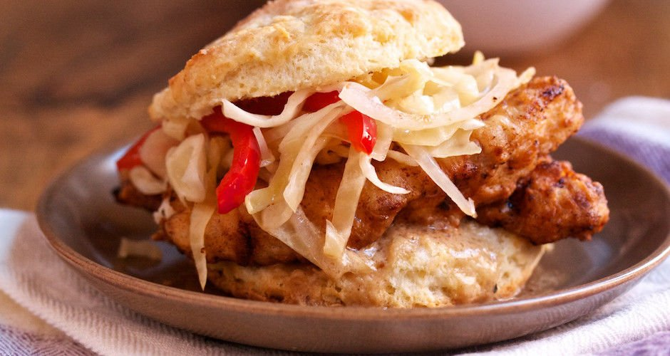 Breakfast goal: Make a freakin' chicken biscuit. Here, let us show you the way: https://t.co/L8Aa2v0XLa