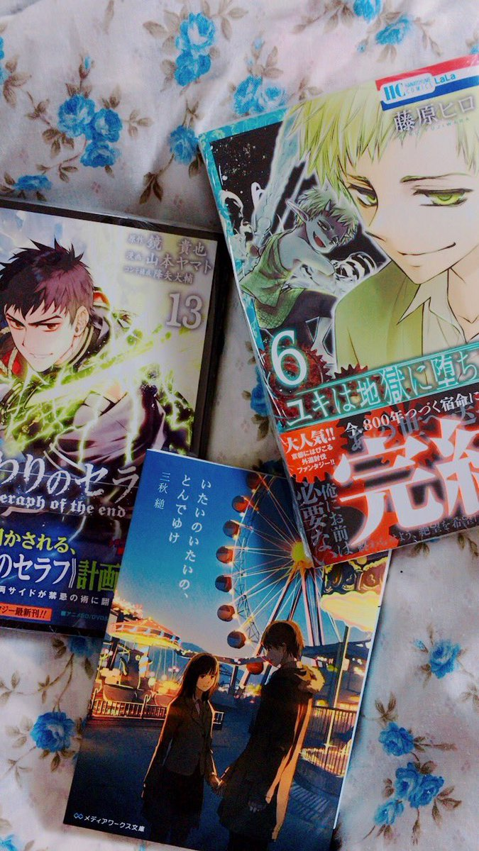 頼んで買ってきてもらいました❤️シリーズ物の最新刊買ったら、最初から読むじゃないですか。今だなって✨階段島シリーズ終わり