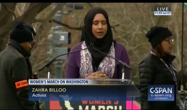 #CAIR Director Speaks At The Anti #Trump  #WomensMarch   Clueless #Feminists  Embrace Their Oppresors   https://t.co/kxXeps4drE via @YouTube