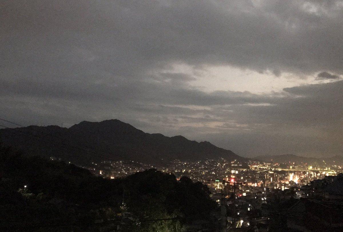 #この世界の片隅に呉市内の夜景(去年の写真)