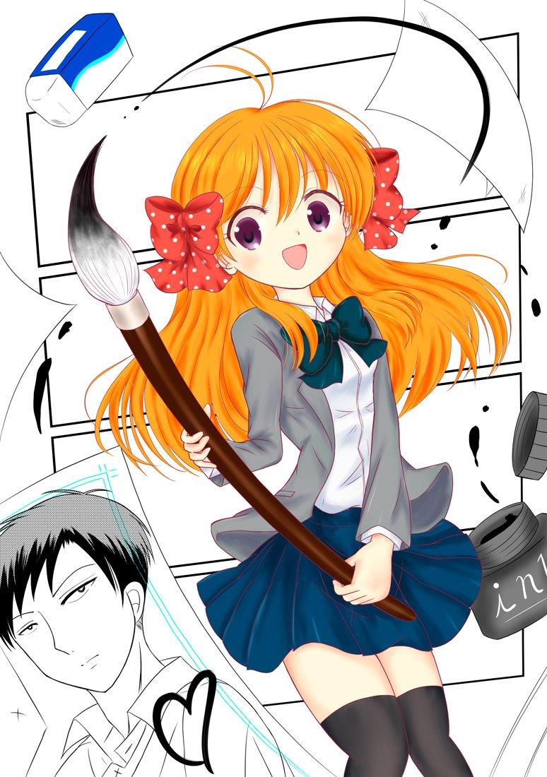 「月刊少女野崎くん」より千代ちゃん&野崎くん原作もアニメも超オススメ2期まだかなー、と。