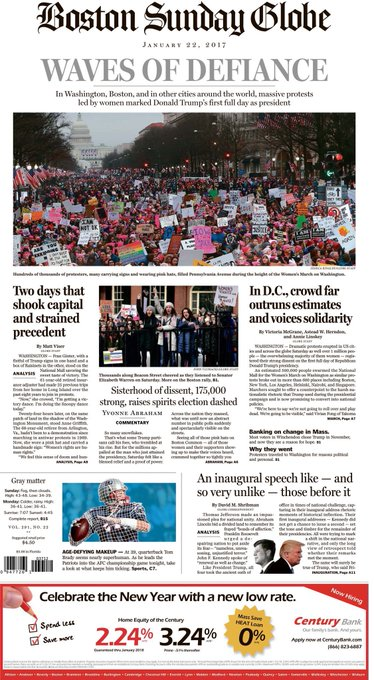 In today's Globe: WAVES OF DEFIANCE. Two days that shook the capital & stained precedent. My analysis from the Mall: https://t.co/iV49Vz6gBo