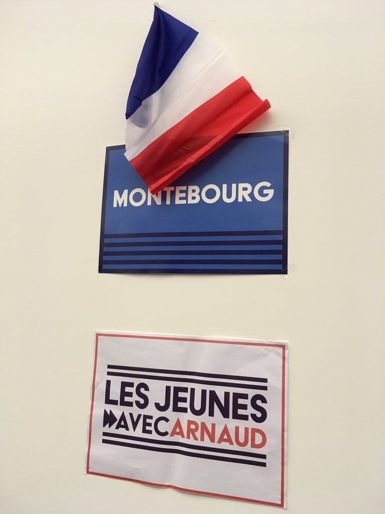 L'ambiance se tend au QG de @montebourg, 'on a connu des heures plus glorieuses' reconnaît un proche du candidat