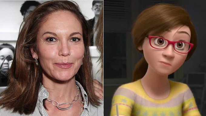 Happy birthday to Diane Lane, the voice of Riley\s mother from INSIDE OUT!