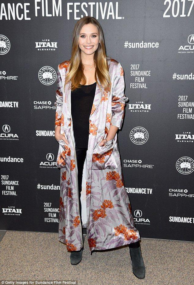 Elizabeth Olsen shimmers at Sundance premiere of Wind River with Jeremy Renner https://t.co/hxqF3jfnmu