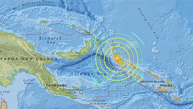 Levantan alerta de tsunami tras terremoto de 7,9 en Papúa e Islas Salomón https://t.co/jo4QWodjaI