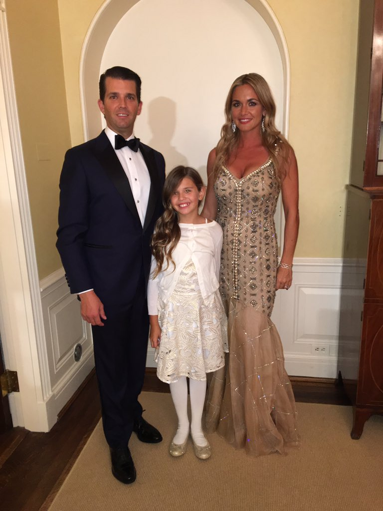 Vanessa, Kai and me before the balls. #inauguration #trump45 #usa #america #trump