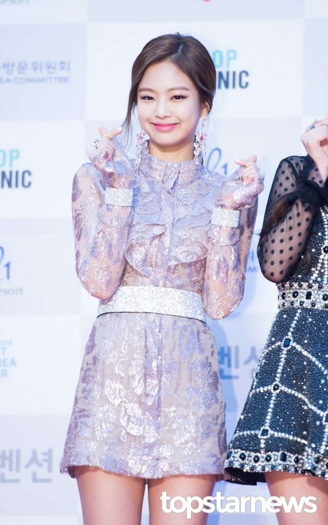 [HD포토] 블랙핑크(BLACKPINK) 제니, '러블리한 미소'  #서울가요대상 #블랙핑크 #BLACKPINK #제니. https://t.co/C5JVP1GVRq