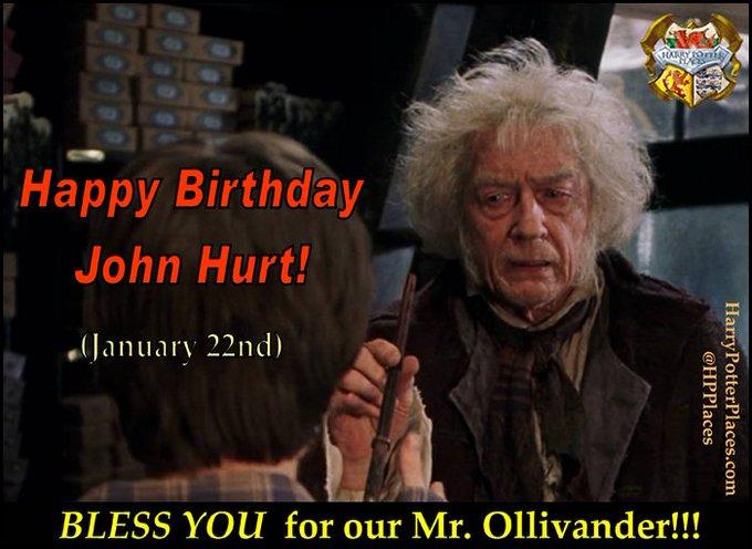 Happy Birthday to John Hurt!