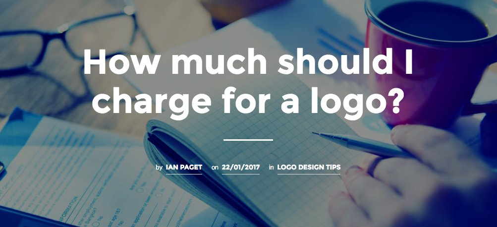 How much is logo design
