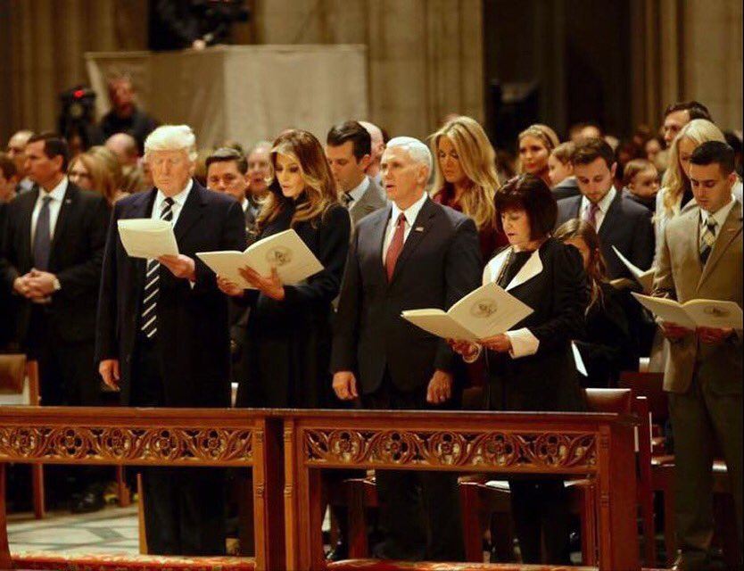 Beautiful picture from yesterday's National Prayer Service.  So many incredible speakers and singers. So moving!