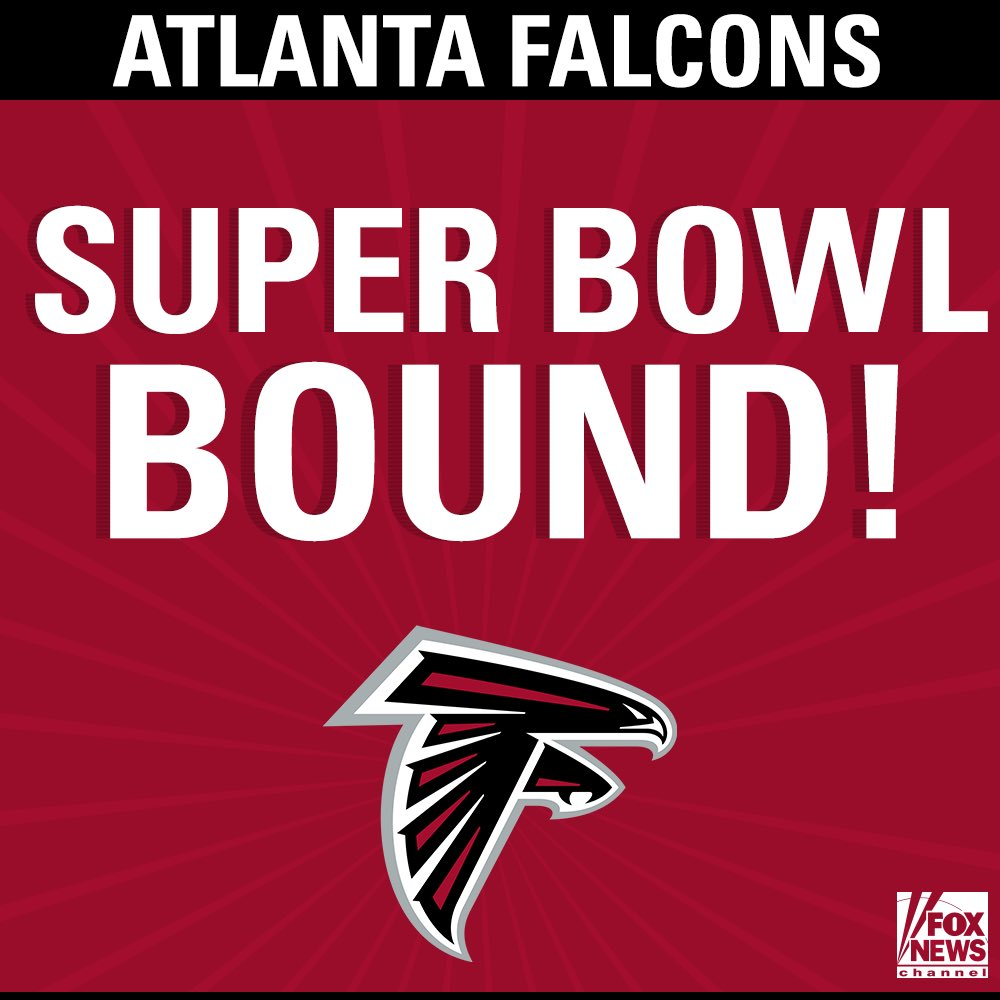 Congratulations to the NFC Champions @AtlantaFalcons !