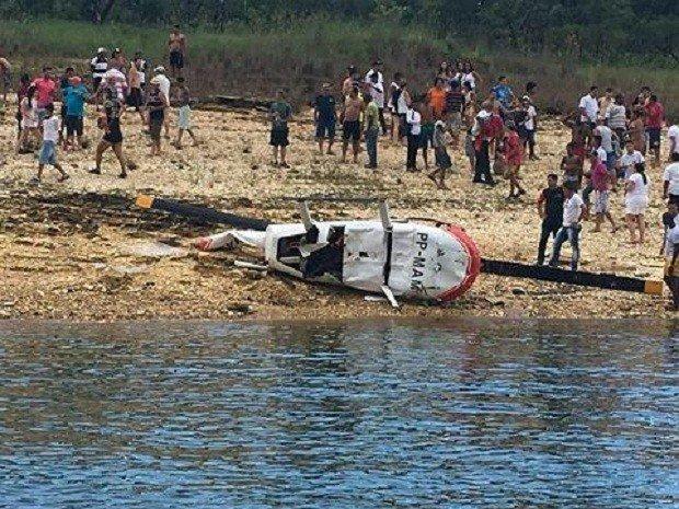 Queda de helicóptero deixa feridos na região de Furnas em Capitólio (MG) https://t.co/EkiwBXqrMq #G1