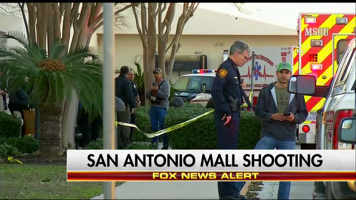 NEWS ALERT: San Antonio mall shooting.