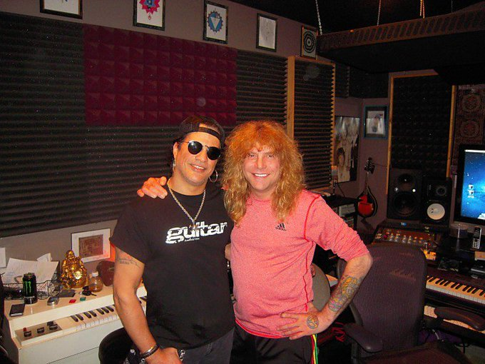 A huge happy birthday to the one & only Steven Adler! We love you \\m/ &