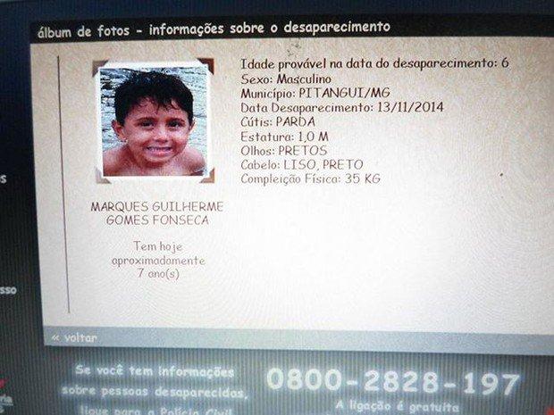 Foto em conta de luz ajuda polícia a achar criança desaparecida em MG. https://t.co/7AJjqmxek0 #G1