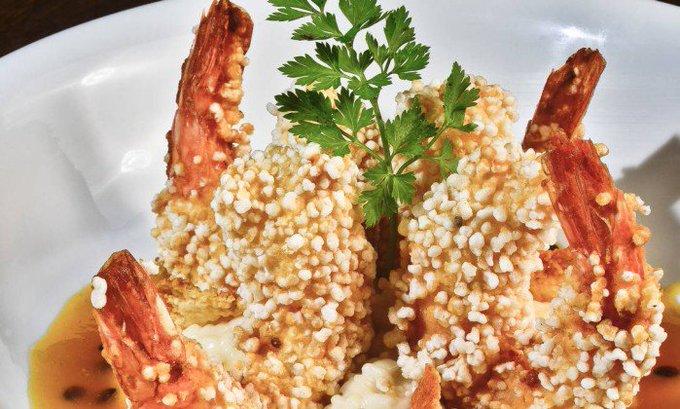 Aprenda a fazer um delicioso camarão na crosta de tapioca. https://t.co/iFp2Dr8Aq0