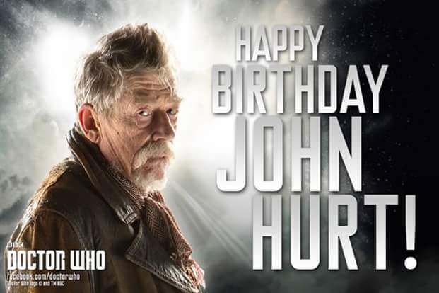 Happy Birthday John Hurt