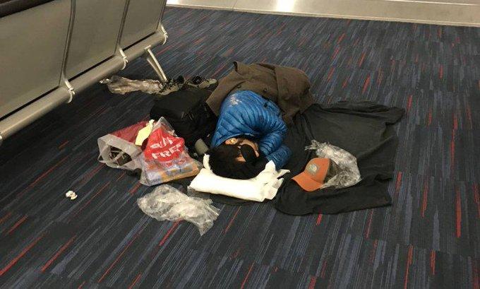 Atraso de vida na rotina dos passageiros de avião. https://t.co/TGv5VCvuqz