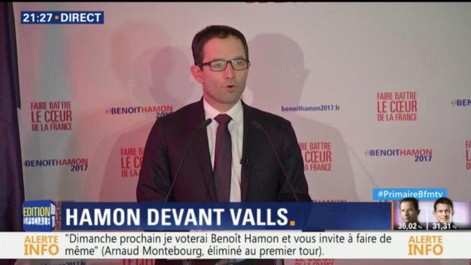 Je tiens à remercier les Francais pour ce bel exercice démocratique #PrimaireGauche, qui est désormais incontournable.