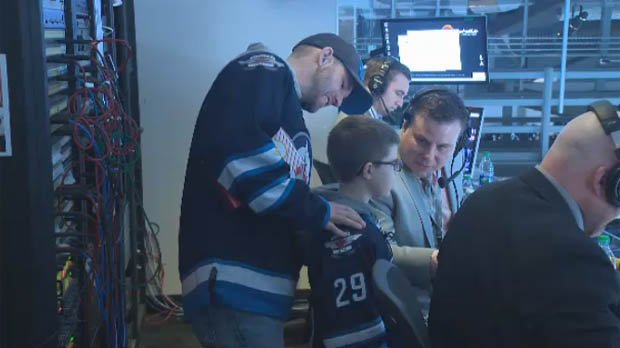 New technology helps legally-blind boy see Jets game